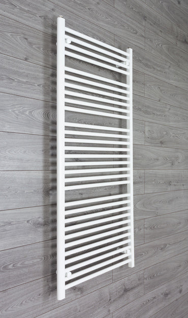 700mm Wide 1500mm High Flat White Heated Towel Rail Radiator HTR,Towel Rail Only