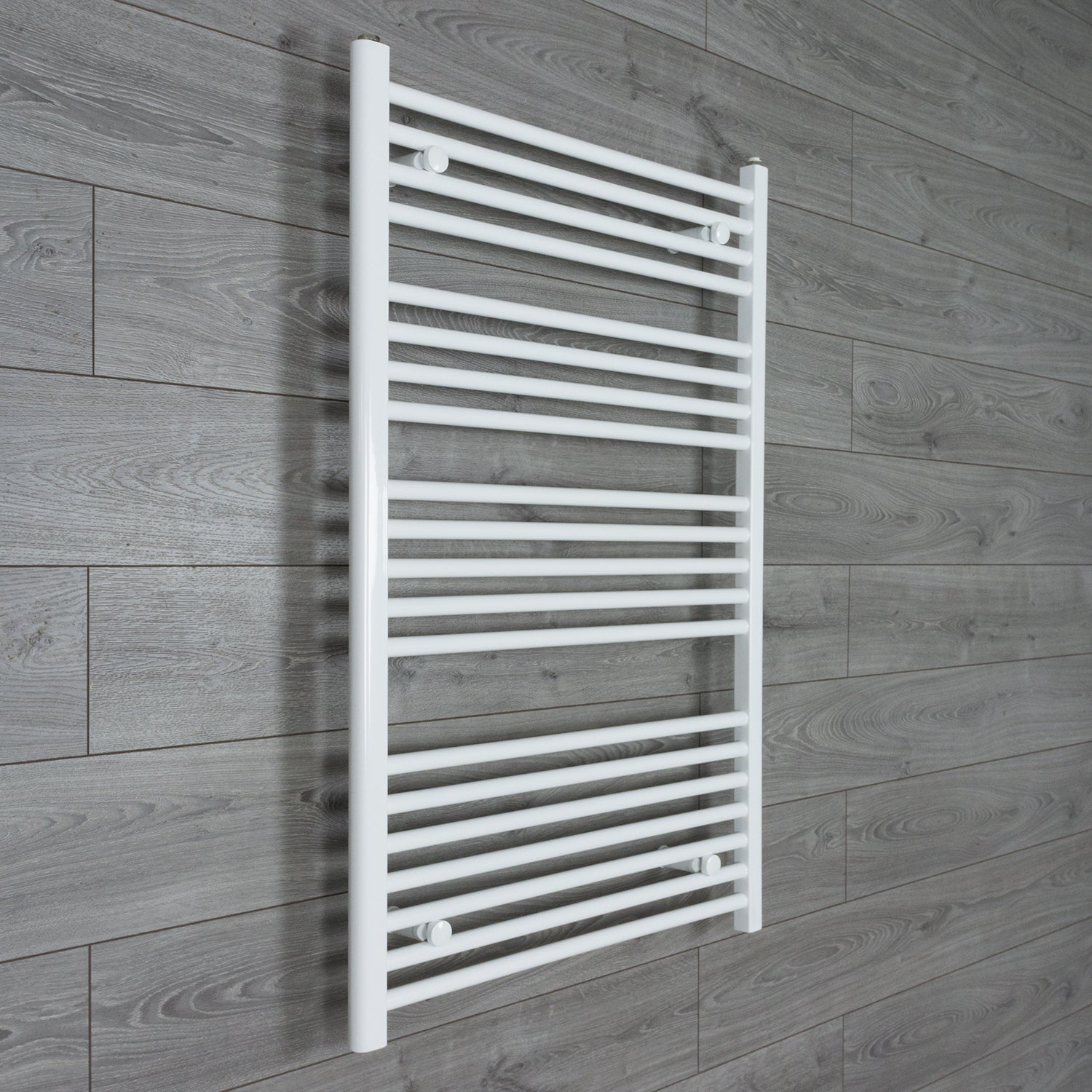 750mm Wide 1100mm High Flat White Heated Towel Rail Radiator HTR,Towel Rail Only