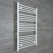 700mm Wide 1100mm High Flat White Heated Towel Rail Radiator HTR,Towel Rail Only