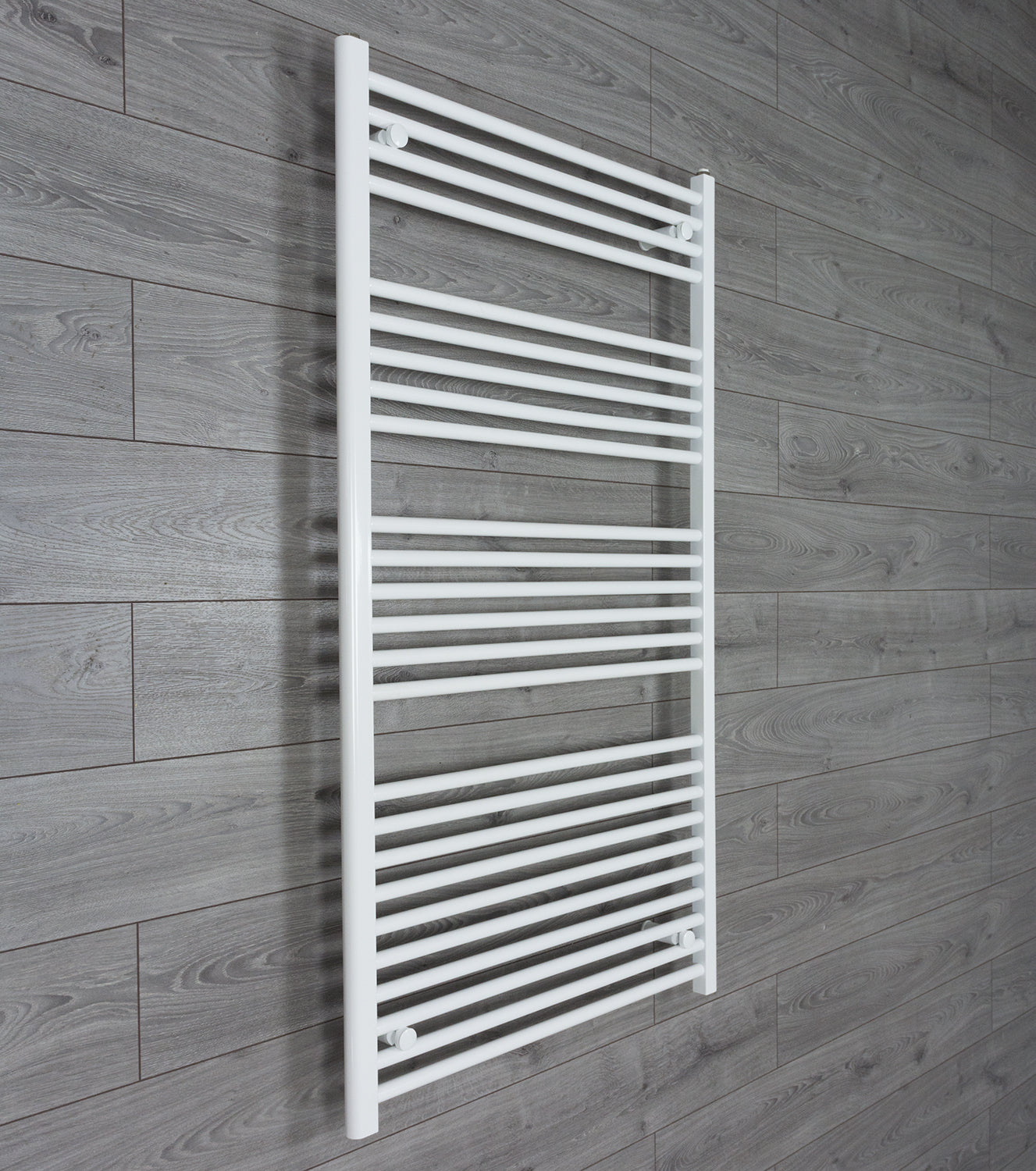 900mm Wide 1400mm High Flat White Heated Towel Rail Radiator HTR,Towel Rail Only