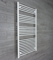 800mm Wide 1400mm High Flat White Heated Towel Rail Radiator HTR,Towel Rail Only