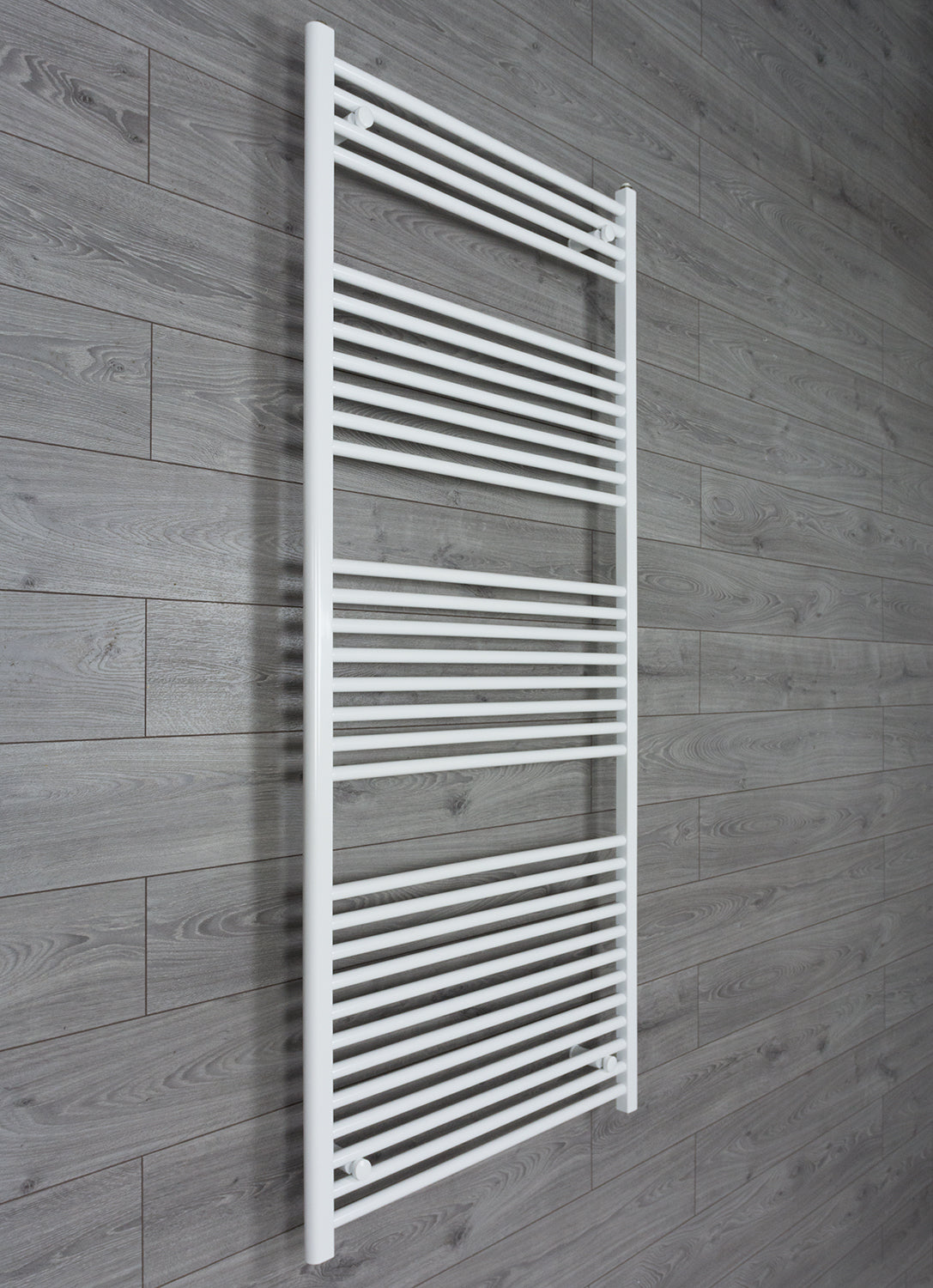 750mm Wide 1800mm High Flat White Heated Towel Rail Radiator HTR,Towel Rail Only