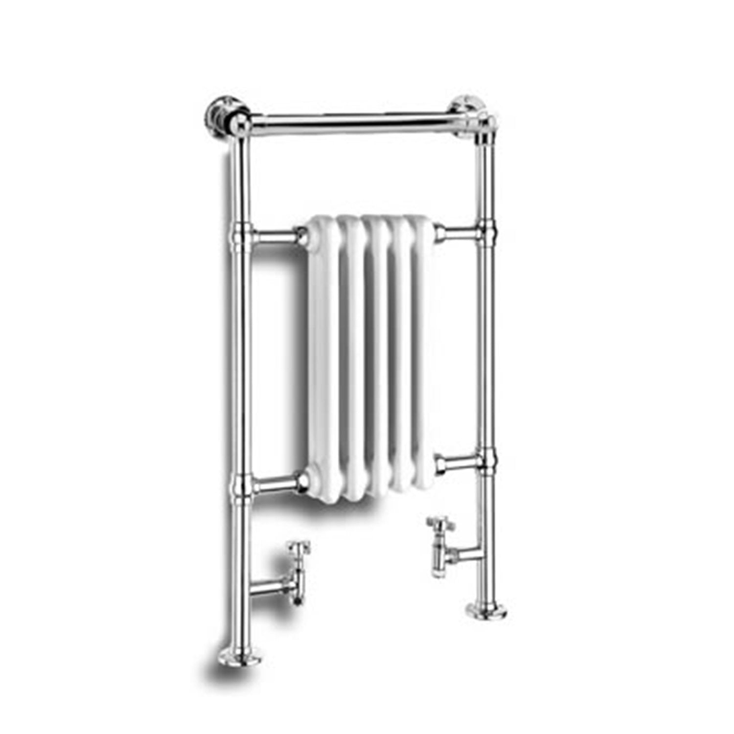 Reina Designer Oxford Traditional Heated Towel Rail Radiator