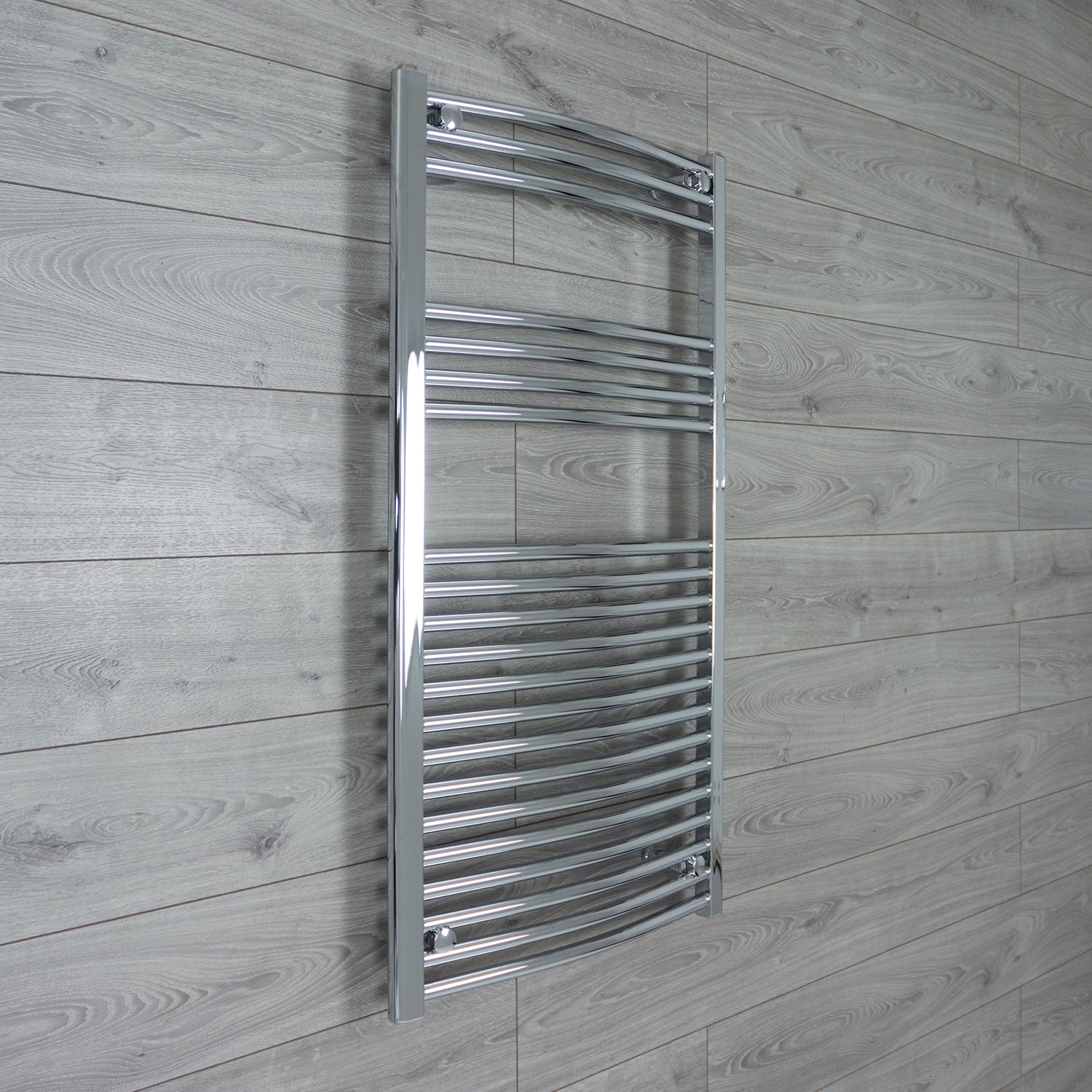 600mm Wide 1100mm High Curved Chrome Heated Towel Rail Radiator HTR,Towel Rail Only