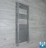 500mm Wide 1200mm High Straight Chrome Heated Towel Rail Radiator HTR,With Straight Valve