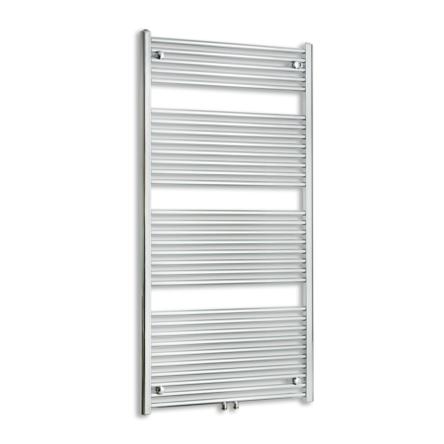 750mm Wide 1800mm High Straight Chrome Heated Towel Rail Radiator HTR Dual Fuel,Towel Rail Only