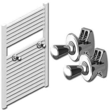 Thin Shape Peg Extra Hanger Hooks For Heated Towel Rail Radiators White / Chrome,Chrome