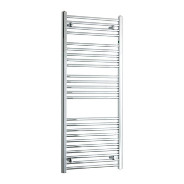 450mm Wide 1300mm High Flat Chrome Heated Towel Rail Radiator HTR,Towel Rail Only