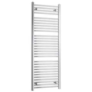 450mm Wide 1500mm High Flat Chrome Heated Towel Rail Radiator HTR,Towel Rail Only