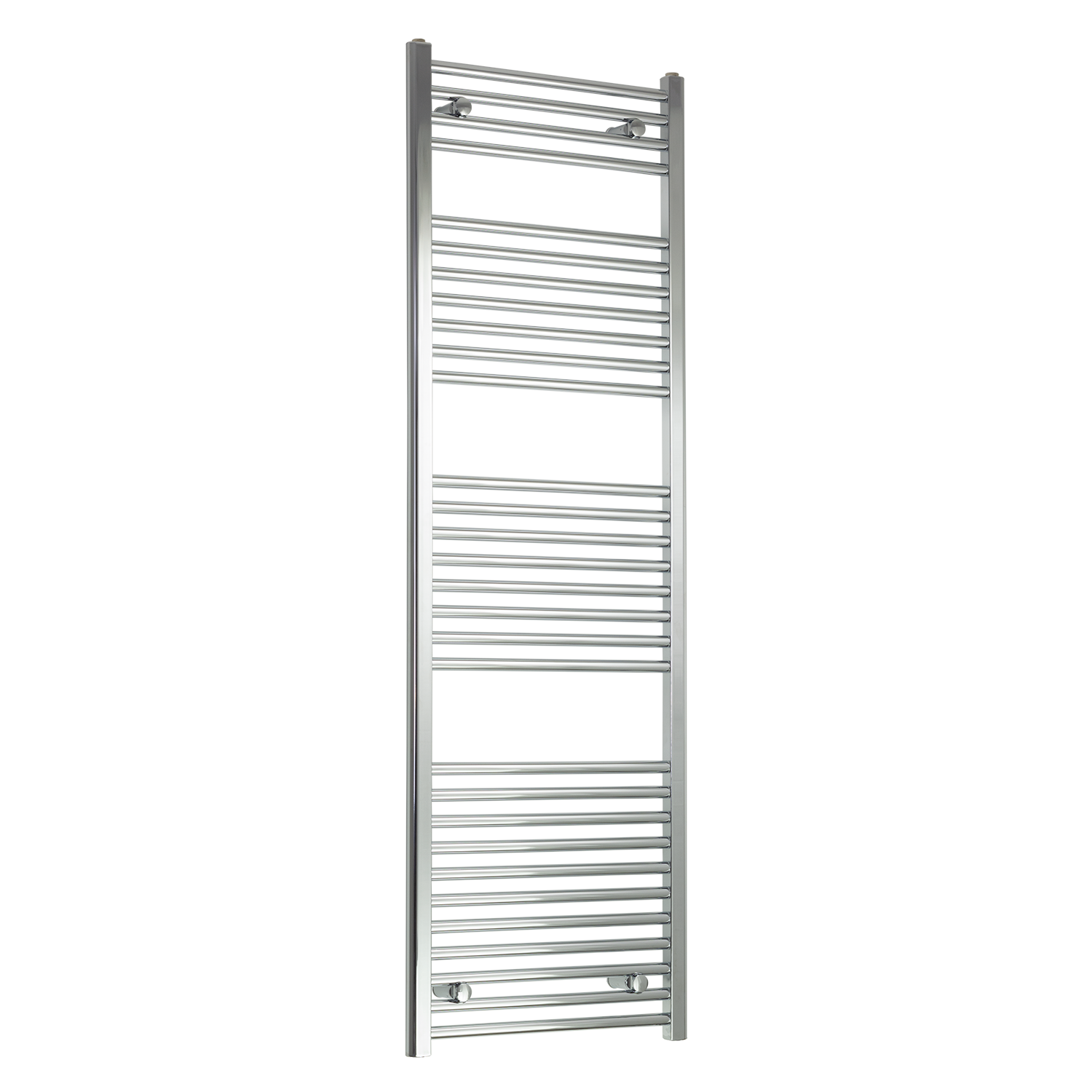 550mm Wide 1700mm High Straight Chrome Heated Towel Rail Radiator HTR Central Heating,Towel Rail Only