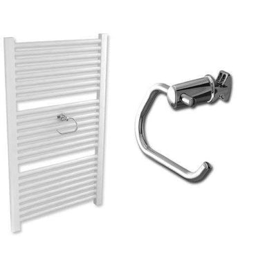 Chrome Towel Radiator Roll Holder for Heated Towel Rail Radiator