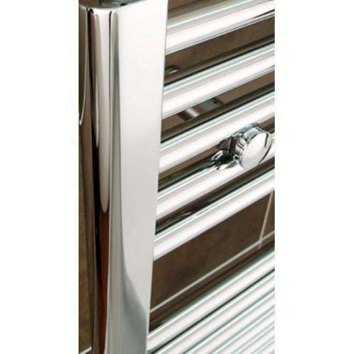 1200mm Wide 900mm High Flat Chrome Heated Towel Rail Radiator HTR