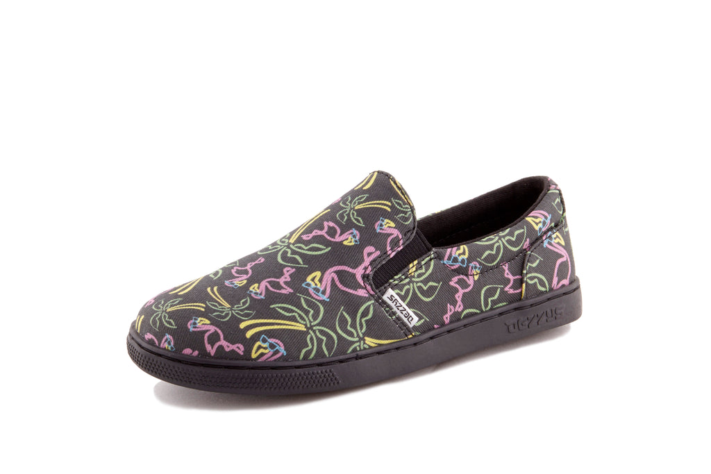 Neon Sign Slip-On