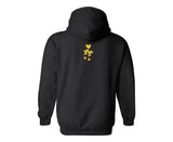 "Dead Fresh Crew Highlighted ""A"" Hoodie - Black"