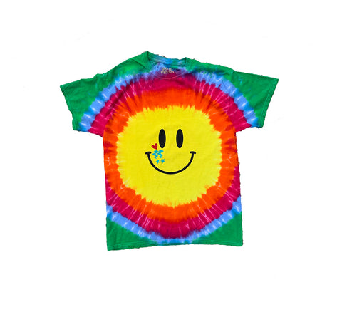 Tie Dye HBS Smiley Face
