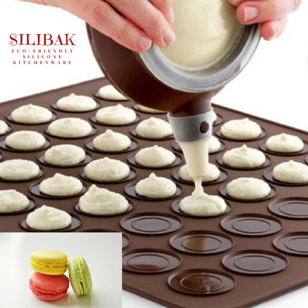 COMPLETE ECO-FRIENDLY SILICONE MACARONS & COOKIES KIT - SILIBAK