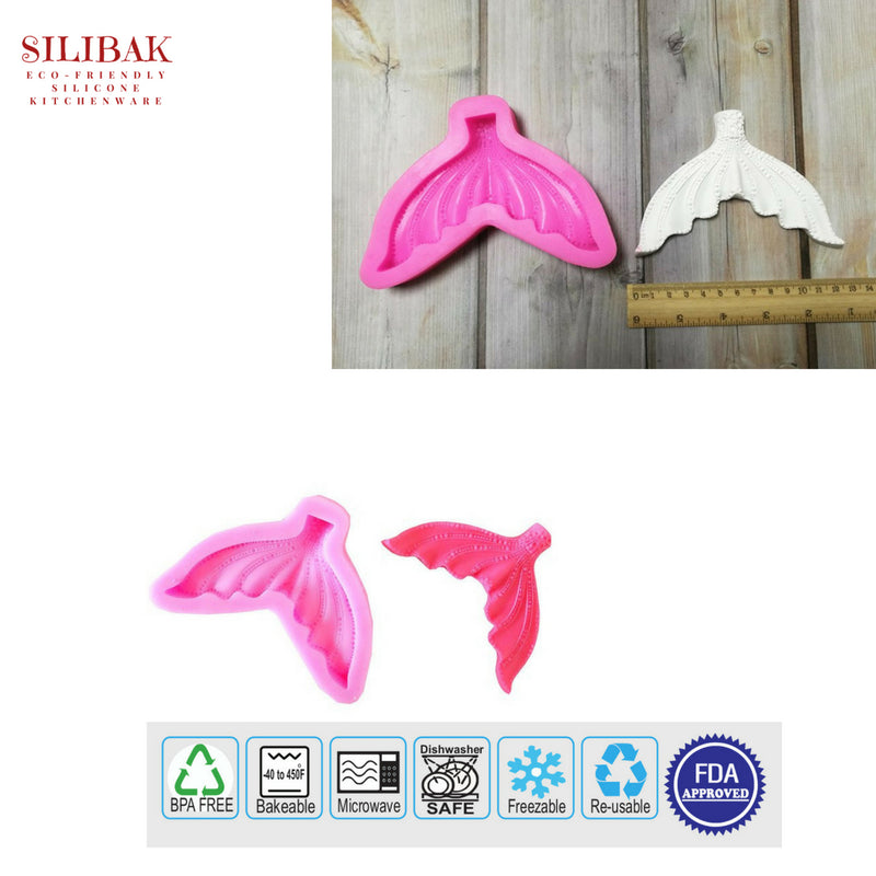 EASY FLEXIBLE ECO-FRIENDLY SILICONE MERMAID TALE MOLDS (5 STYLES) - SILIBAK