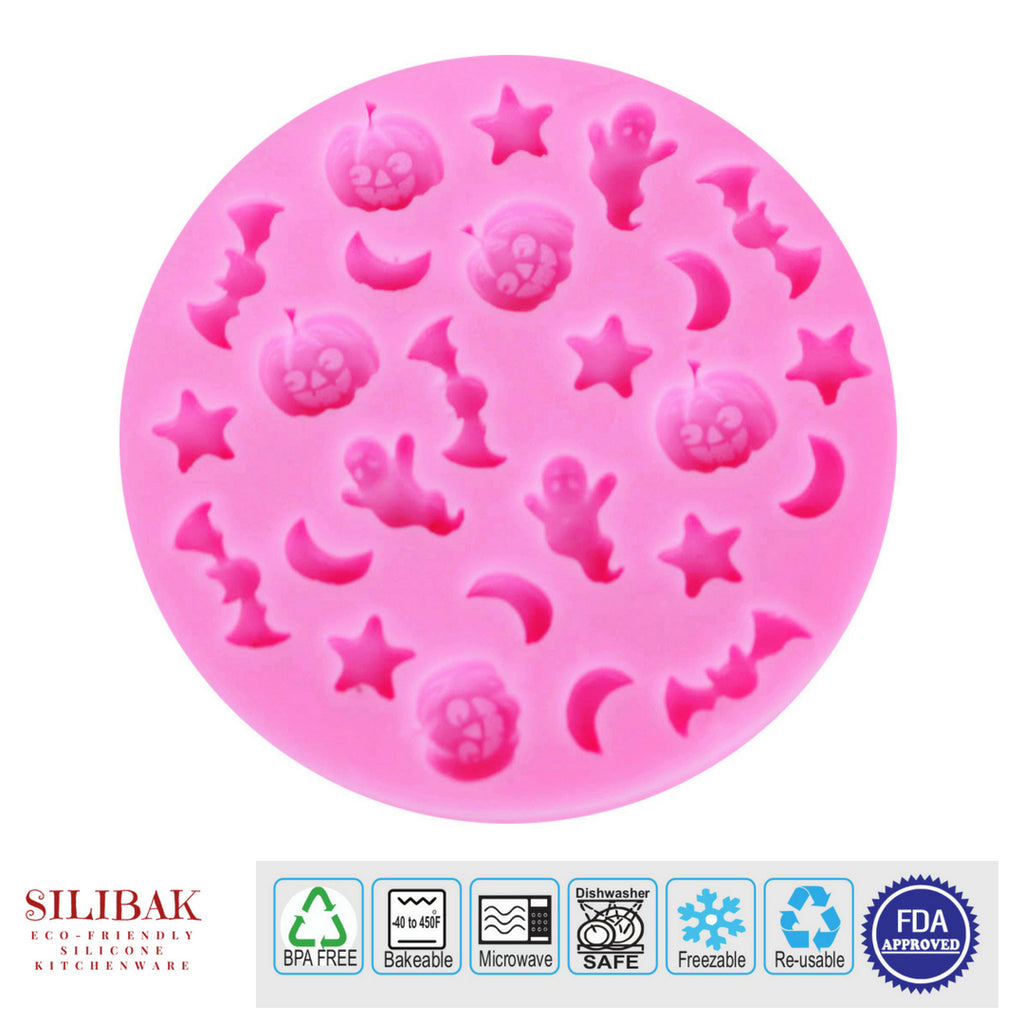 EASY ECO-FRIENDLY SILICONE 3D CARTOON HALLOWEEN MOLD - SILIBAK