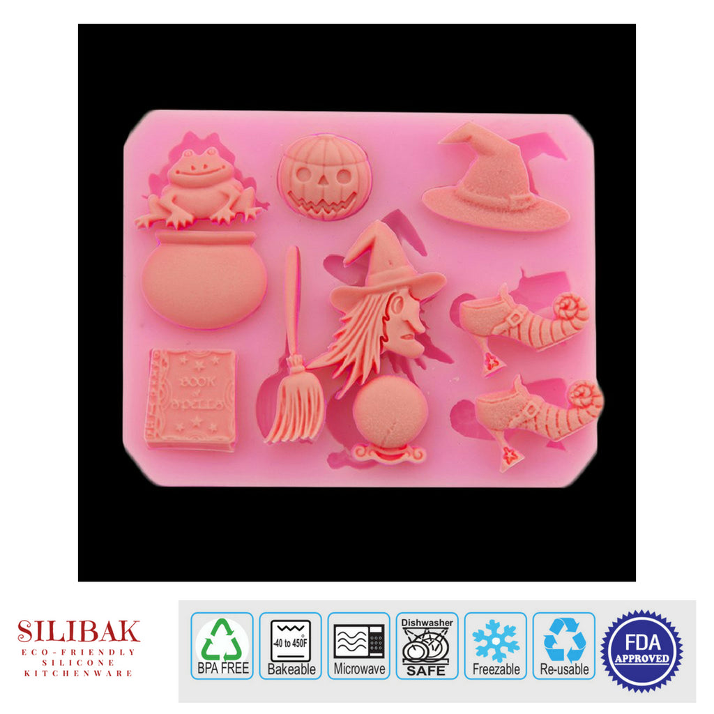 EASY ECO-FRIENDLY SILICONE 3D PARTY HALLOWEEN MOLD - SILIBAK