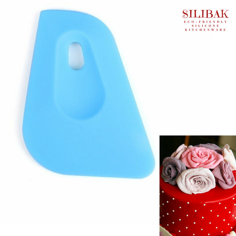 EASY FLEXIBLE ECO-FRIENDLY BIRD SHAPE CREAM SMOOTHER SPATULA - SILIBAK