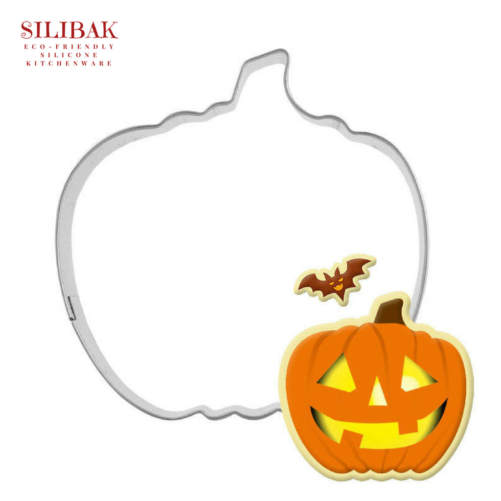 EASY ECO-FRIENDLY PUMPKIN COOKIE CUTTER - SILIBAK