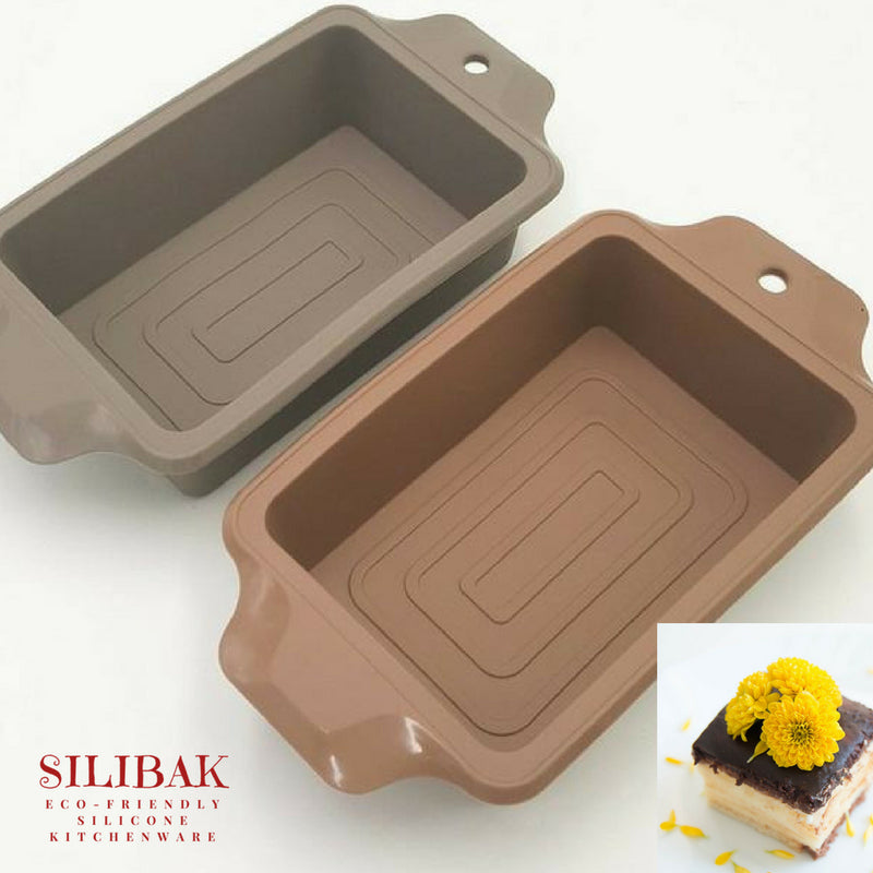 EASY FLEXIBLE BIG 3D RECTANGULAR ECO-FRIENDLY SILICONE MOLD - SILIBAK