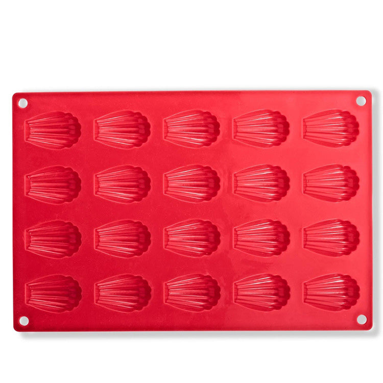 EASY FLEXIBLE ECO-FRIENDLY SILICONE SHELL SHAPED MOLD - SILIBAK