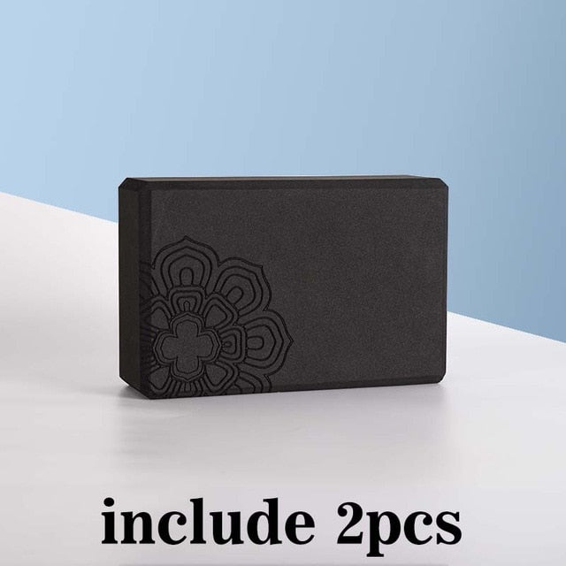 Briques de Yoga MANDALA (lot de 2 + sangle offerte) - Esprit Mandala