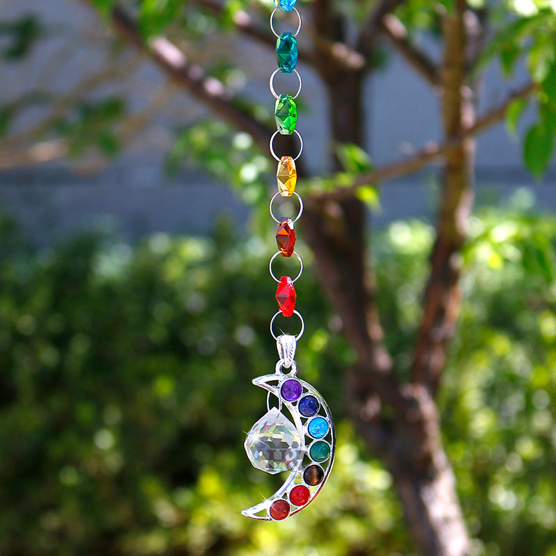 Suspension cristal LUNE - Esprit Mandala