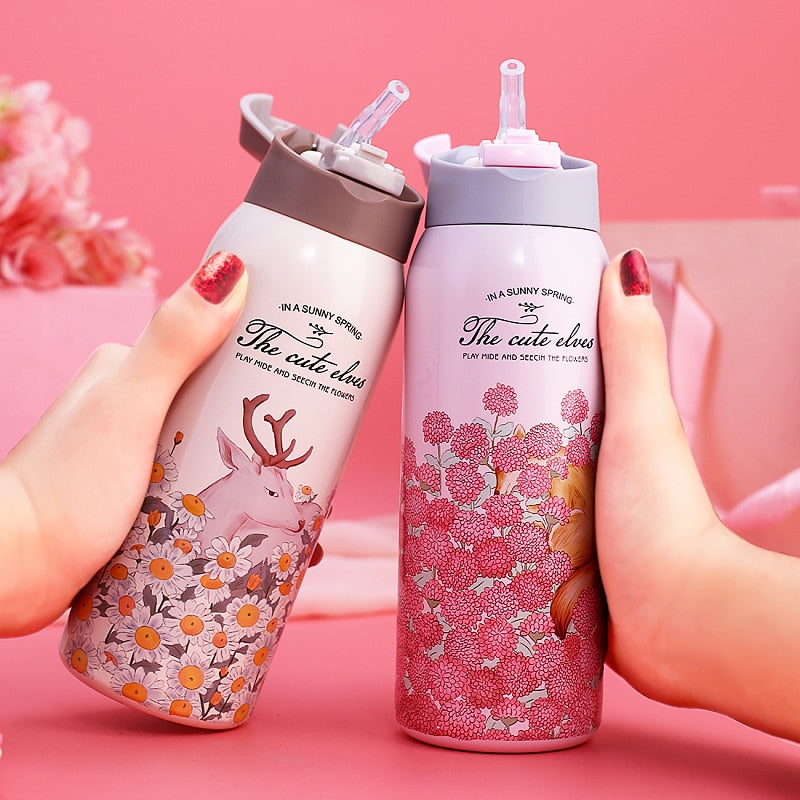 Gourde inox THERMOS Cute (350ml) - Esprit Mandala