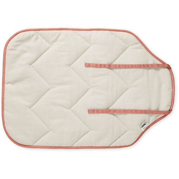 Changing Mat Sashiko Blush - rockababy