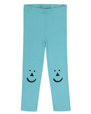 Teal Leggins - rockababy