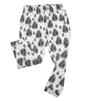 Organic Cotton Leggings | Fern Print - rockababy