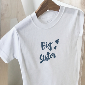 The Stork Box ... Big Sister T Shirt - rockababy