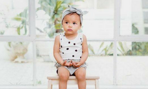 Spots Sleeveless Bodysuit | Organic Cotton - rockababy