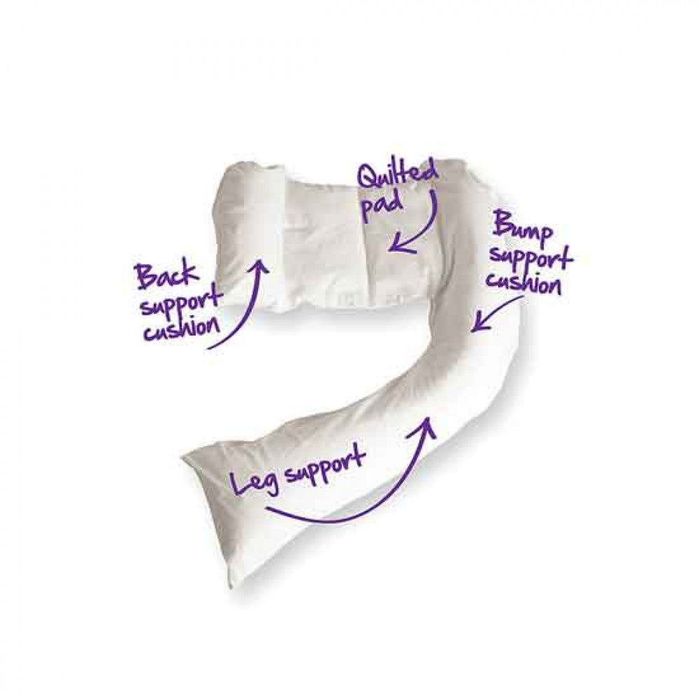 Dreamgenii Pregnancy, Support and Feeding Pillow - rockababy