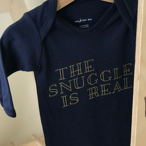 The Stork Box ... The Snuggle is Real Sleepsuit - rockababy