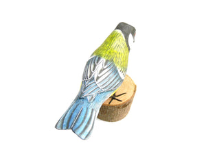 Great Tit Hand Painted Wooden Ornament