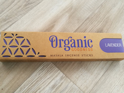 Lavender Organic Goodness Incense