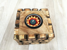 Wooden Twig Slice Tealight Holder