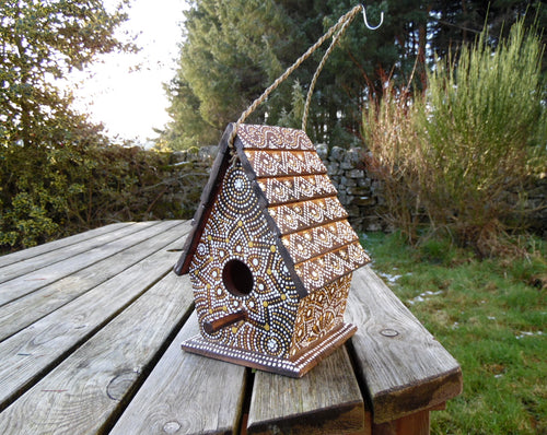 Mandala Bird Box