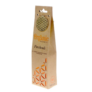 Organic Goodness Jumbo Incense Cones, Patchouli