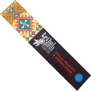 Palo Santo & Pinon Pine Tribal Soul Incense Sticks 15g