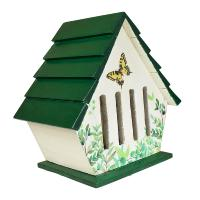 Butterfly House, Green and White