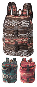 Handloom Cotton Backpack