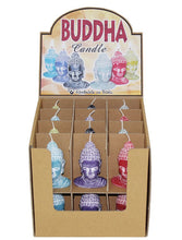 Thai Buddha Candle, Choice of 6 Colours.