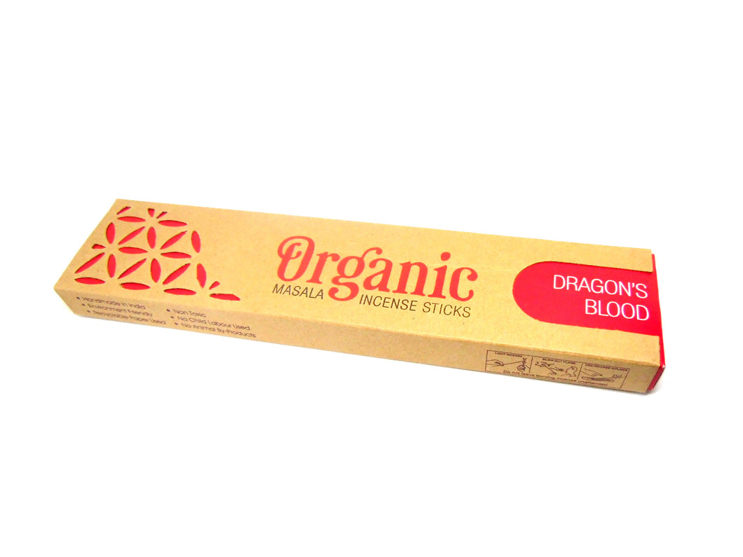 Dragons Blood Organic Goodness Incense