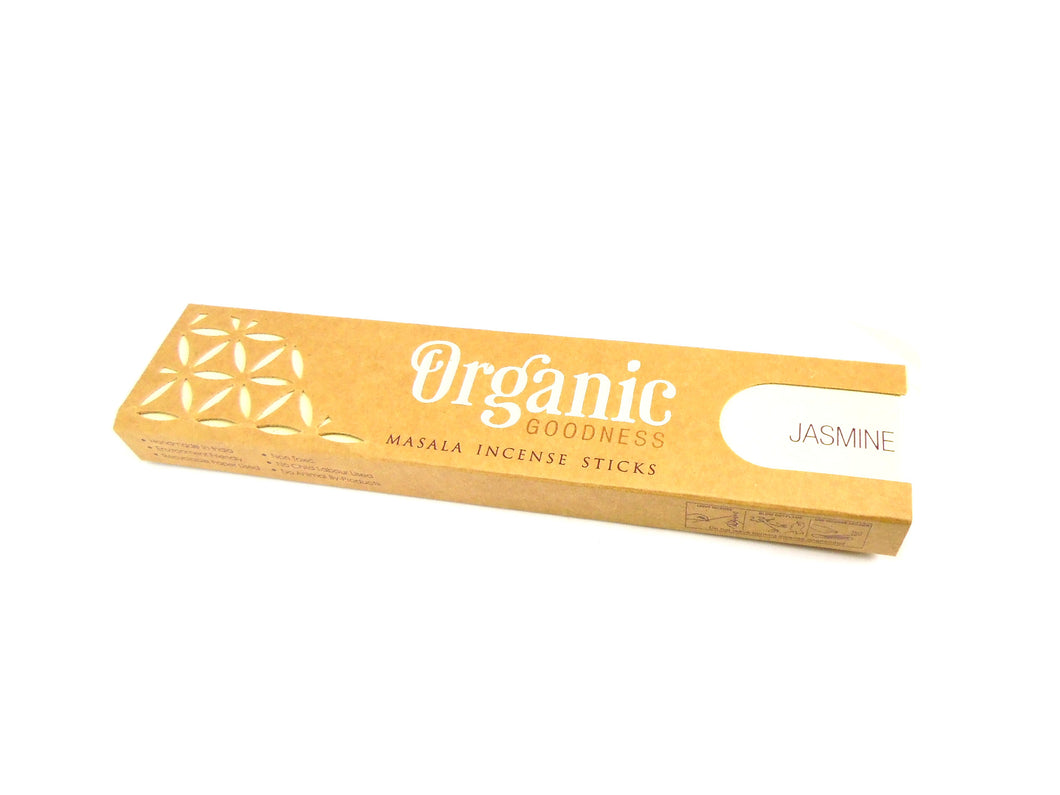 Jasmine Organic Goodness Incense