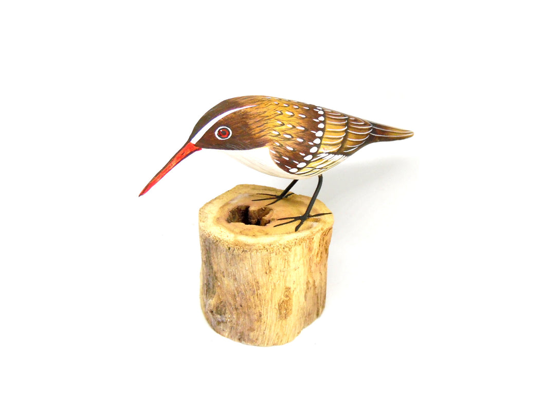 Treecreeper Hand Painted Wooden Ornament