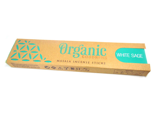 White Sage Organic Goodness Incense
